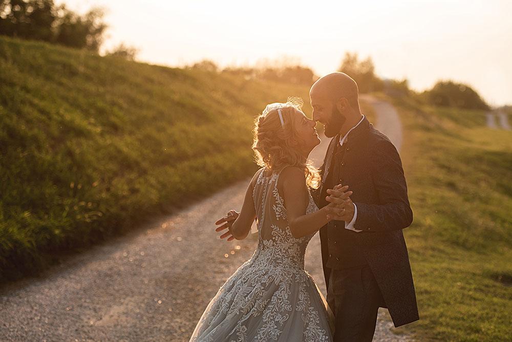 foto di coppia tramonto
